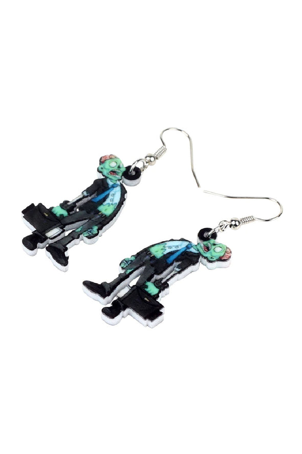 Zombie Business Earrings - Vampirefreaks Store