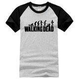 NEW STYLE RAGLAN TEE SHIRT THE WALKING DEAD
