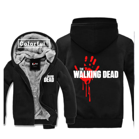 Veste The Walking Dead polaire