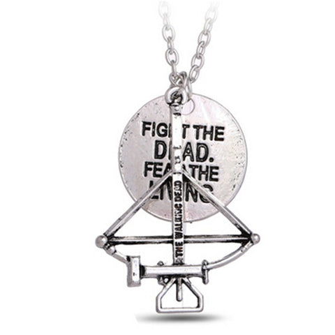 Collier The Walking Dead Alloy Fighting the Death