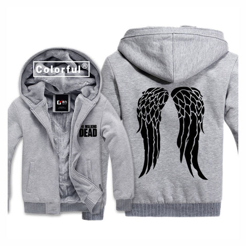 "Veste Edition limitée ""les ailes d'ange"" Made in Daryl Dixon"