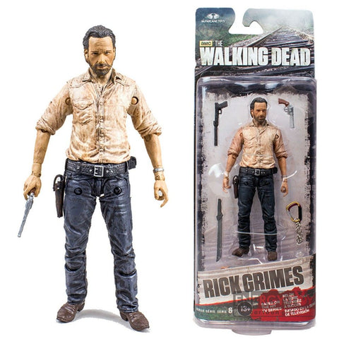 Rick Grimes Figurine  15cm The Walking Dead