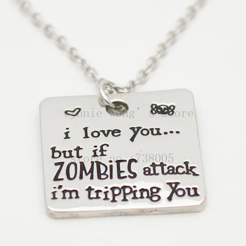 "Collier ""I love you "" TWD"