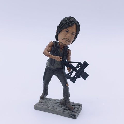 Daryl Dixon Figurine  6cm The Walking Dead
