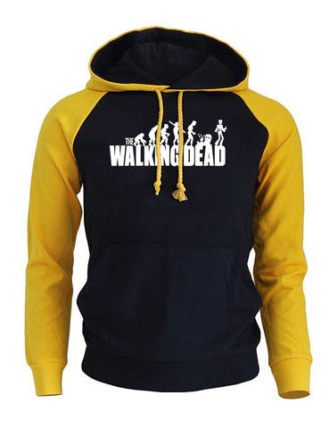 New Style Raglan Sweatshirt The Wlaking Dead