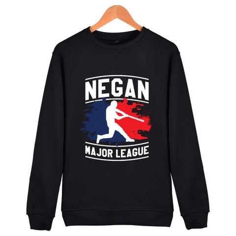 The Walking Dead Sweatshirts Negan Major League