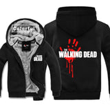 High-Q Unisex Walking Dead Rick Grimes Daryl Dixon casual Cardigan Hoodies jacket coat