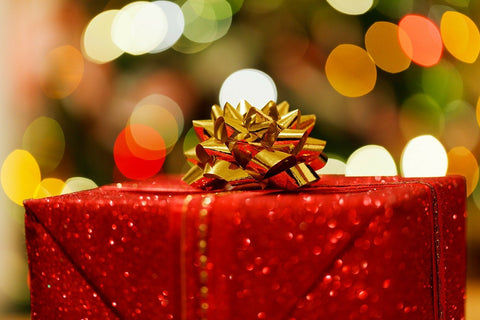 Photo of wrapped Christmax present
