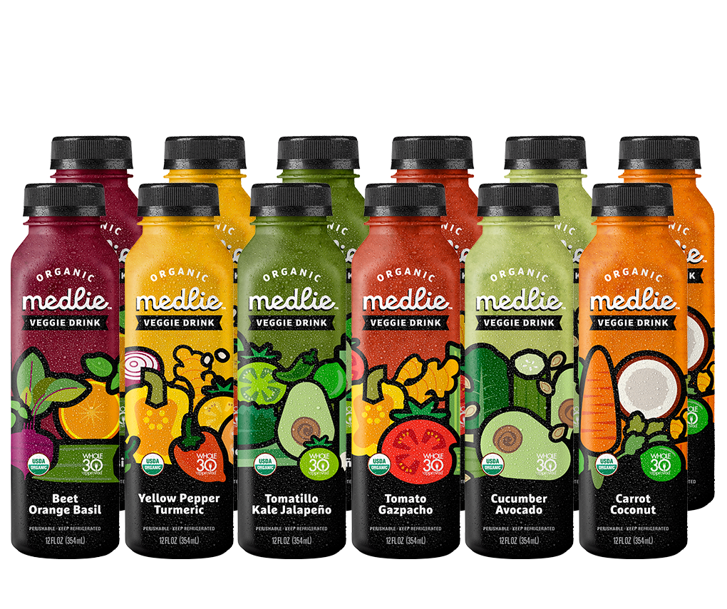 Veggie Drink Sampler (12 pack)
