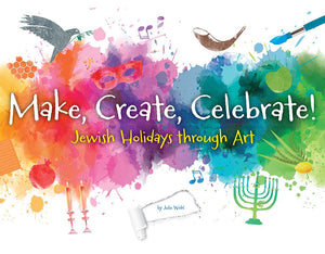 Paint, perform, and doodle your way through the Jewish Holidays!