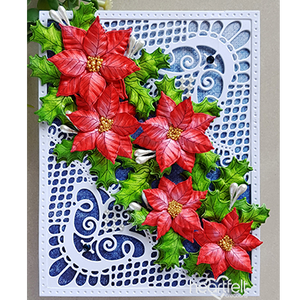 Heartfelt Creations - How to Create Ornate Poinsettias