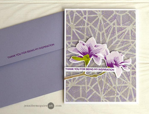 Altenew Layered Kaleidoscope A&B Stencil Bundle
