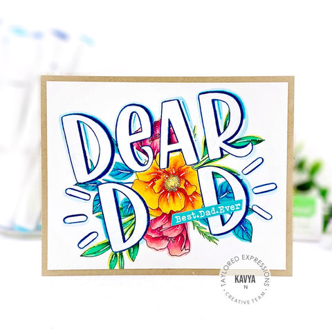 Taylored Expressions - Dear Dad Stamps