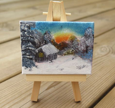 Mini Canvas 6x8cm
