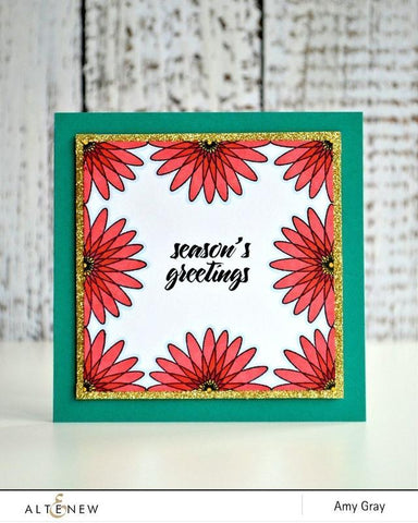 Altenew - Geometric Flowers Stamp and Die