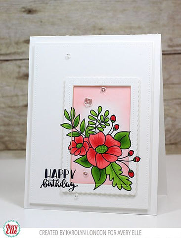 Avery Elle Mimosas Clear Stamp Set and Dies