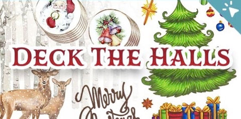 Couture Creations - Deck The Halls Christmas Collection 2021