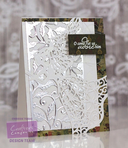 Crafters Companion - Signature Collection by Sara Davies - Traditional Christmas Metal Die - Guardian Angel