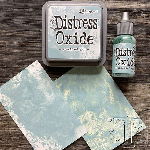 Tim Holtz - Distress Oxide Ink Pad and Re-inker - May Colour - Speckled Egg