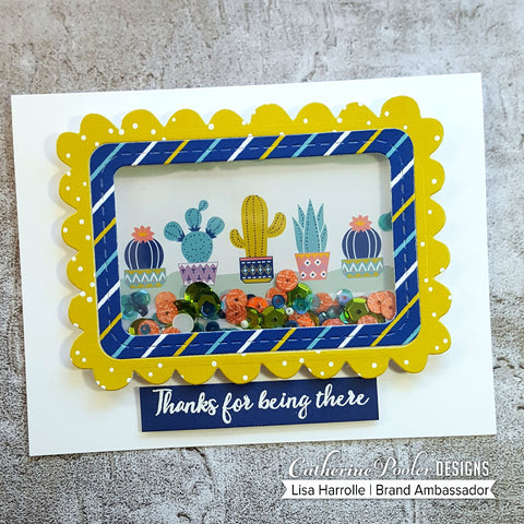 Catherine Pooler - Prickly Patterned Paper