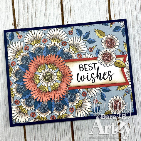 Dare 2B Artzy - Well Wishes Stamp Stamp Set