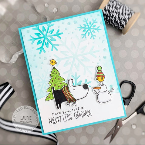Taylored Expressions - Gus and Gertie Holiday Adventures Stamp Set