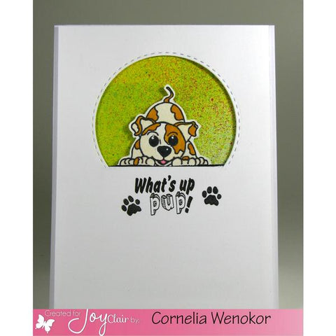 Joy Clair PUPPY LOVE Clear Stamp