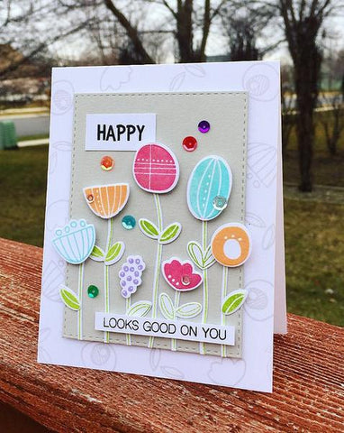 Simon Says Stamps - Artysy Flower Parts Stamp and Die
