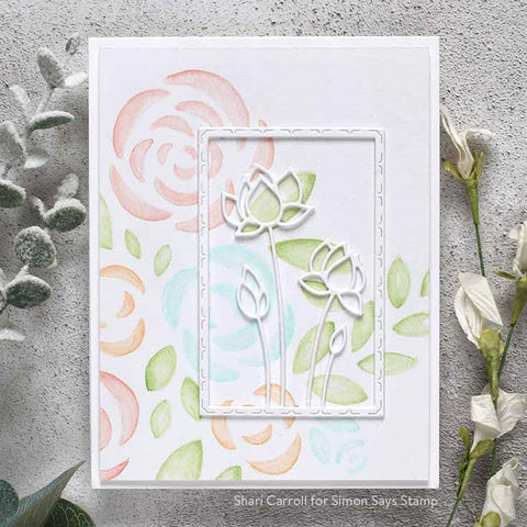 Simon Says Stamp - Bouquet of Roses Stencil