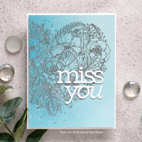 Simon Says Clear Stamps Botanical Heart