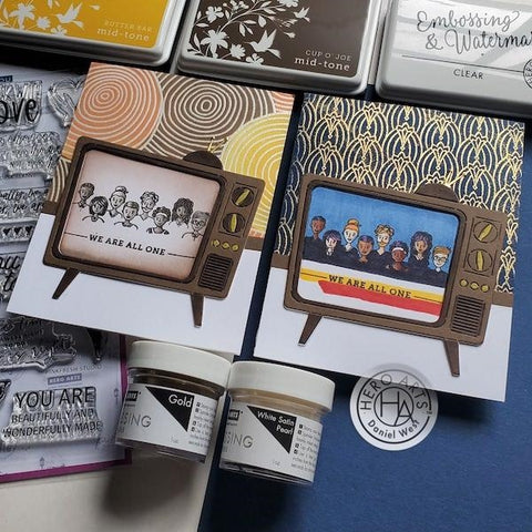 The Stamping Village We Stand With You Clear Stamps