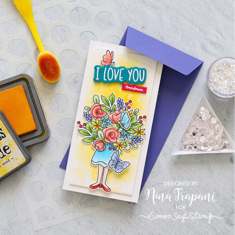 Simon Says Stamps Bouquet for Mom