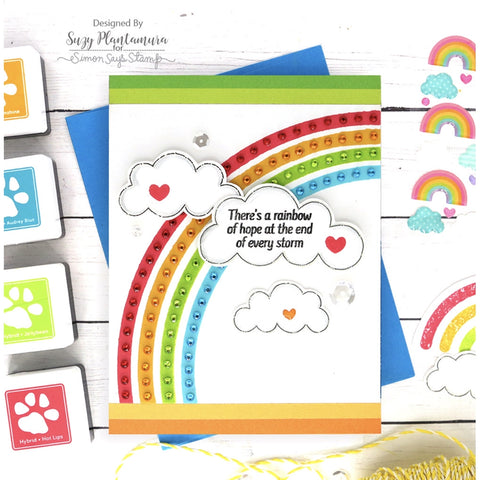 Simon Says - Rainbow Is My Favourite Color Stamp and Die Bundle