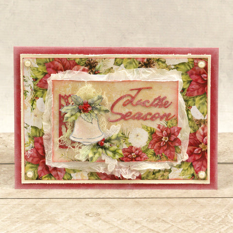 Couture Creations - The Gift of Giving Collection - Mini Stamp - Holly & Bell