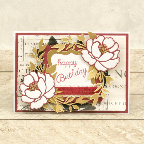 Couture Creations - Blooming Friendship - Mini Die - Friendly Branches