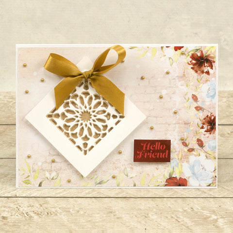 Couture Creations - Blooming Friendship - Mini Die - Mosaic
