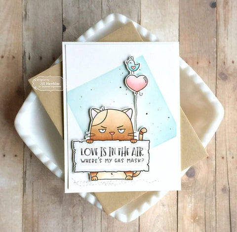 Taylored Expressions - Big Grumpy - Valentine - Stamps and Dies
