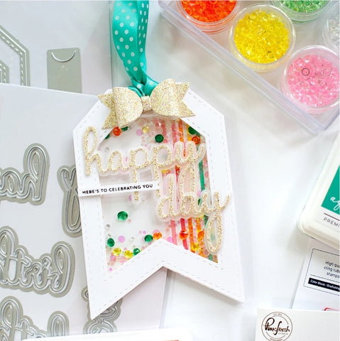 Pinkfresh Studio - Phrase Builder: Happy Die Set