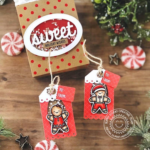 Sunny Studio Stamps -  Christmas Cookies Stamps and Dies