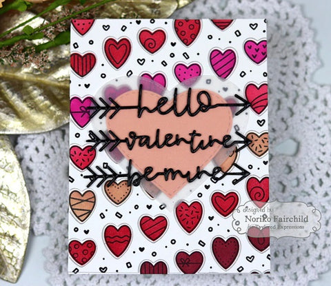 Taylored Expressions - Loved Stencil