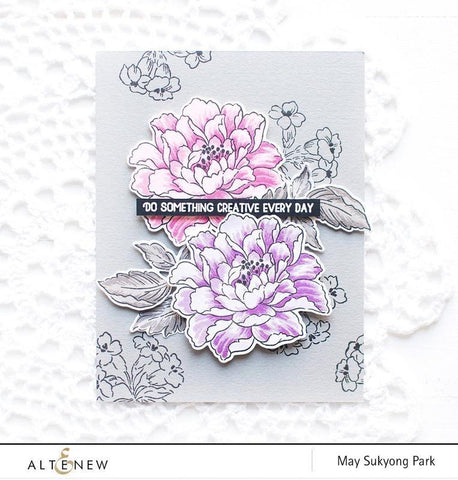 Altenew - Build-A-Flower: Coral Charm Stamp and Die