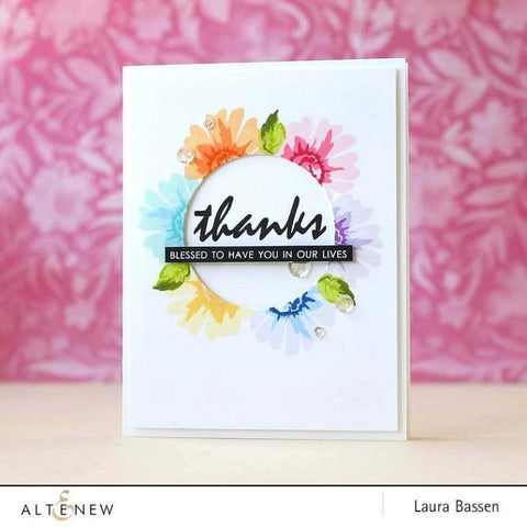 Altenew Mini Daisy Stamp