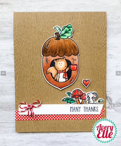 Nuts Clear Stamps