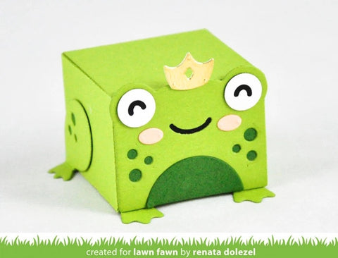 Lawn Fawn - Tiny Gift Box Frog Add-on Dies