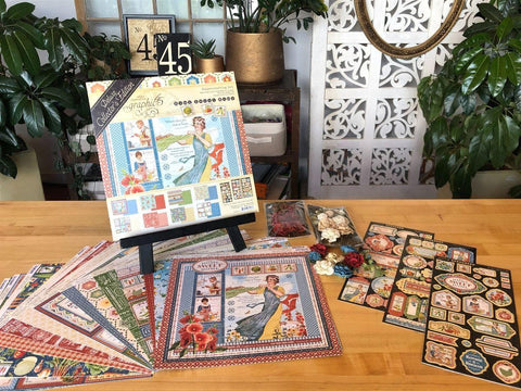 Graphic 45 - Home Sweet Home Deluxe Collector's Edition