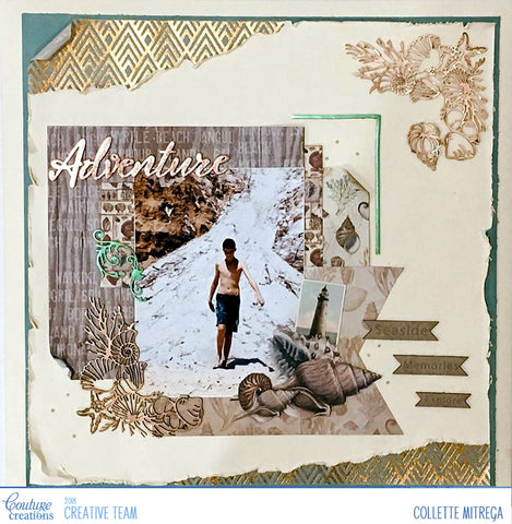 Couture Creations Seaside & Me Paper Pad