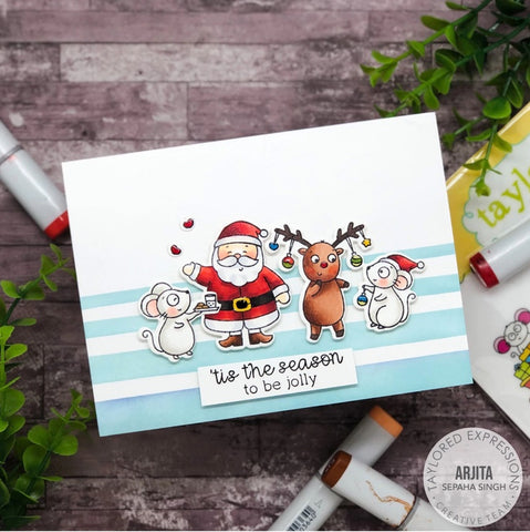 Taylored Expressions - Merry Millie Stamp Set