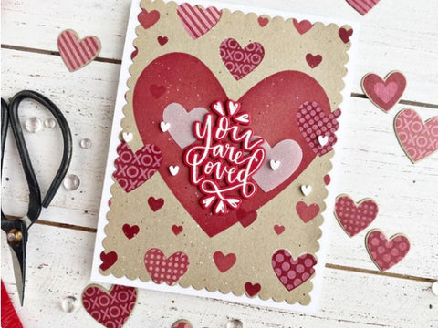 Heart of Hearts Layering Stencil