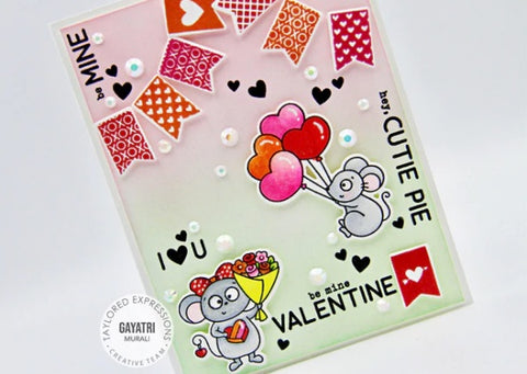 Taylored Expressions - Pennant Parade - Valentine