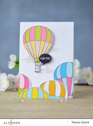 Altenew Baby Ballon Stamp Set & Die Bundle